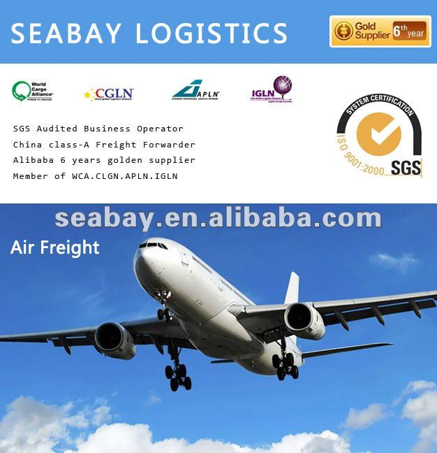 air cargo freight forwarder forwarding transportation shipping rates service from China to texas