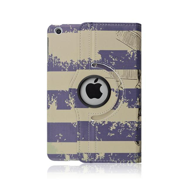 Funky 360 degree rotating protective cover stand leather case for ipad 2 3 4