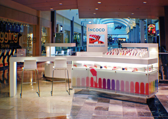 Hot Sale Retail Store Shopping Mall Nail Store Beauty
