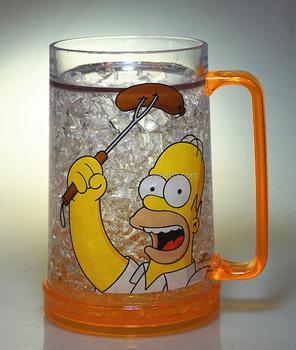 Ice Mug Double Wall Frosty Mug Buy Plastic Ice Mug