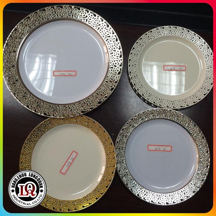 Elegant Disposable Party Dinner Plastic Plates & Elegant Disposable Party Dinner Plastic Plates - Buy Party ...