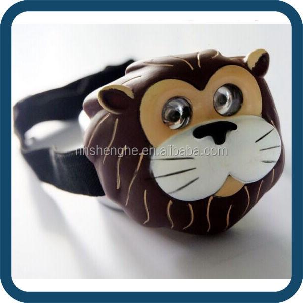 Kids Animal Face Powerful Led Headlamp,Lion Light