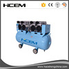 Portable CE approved HCEM piston air compressor 4.0HP /3KW with 120liter horizontal tank
