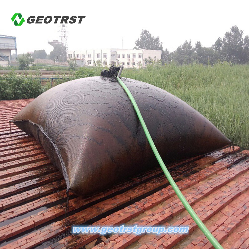 Geotextile Dewatering Bag Sediment Disposal Geobag Product On Alibaba