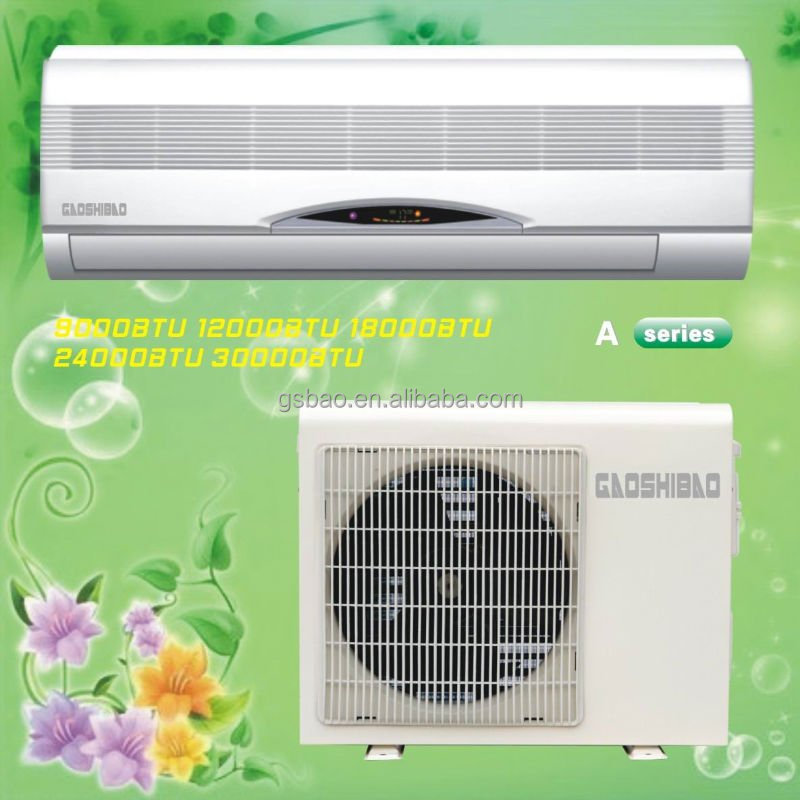 New mounted split type 30000 btu wall split air conditioner