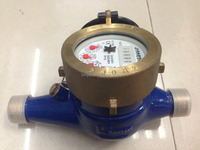 15MM Dry dial brass Class B or class C water meter