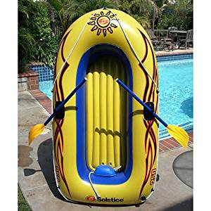 Sunskiff Inflatable 3 Person Boat Kit-By BlueTECH