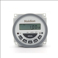 24 Hours Weekly Time Switch TM619 Digital Programmable Timer Switch 250V 16A Internal Battery