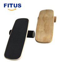 FITUS Balance Board Trainer Roller Board for Exercise Athletic Training and Board Sports mproving Core Strength