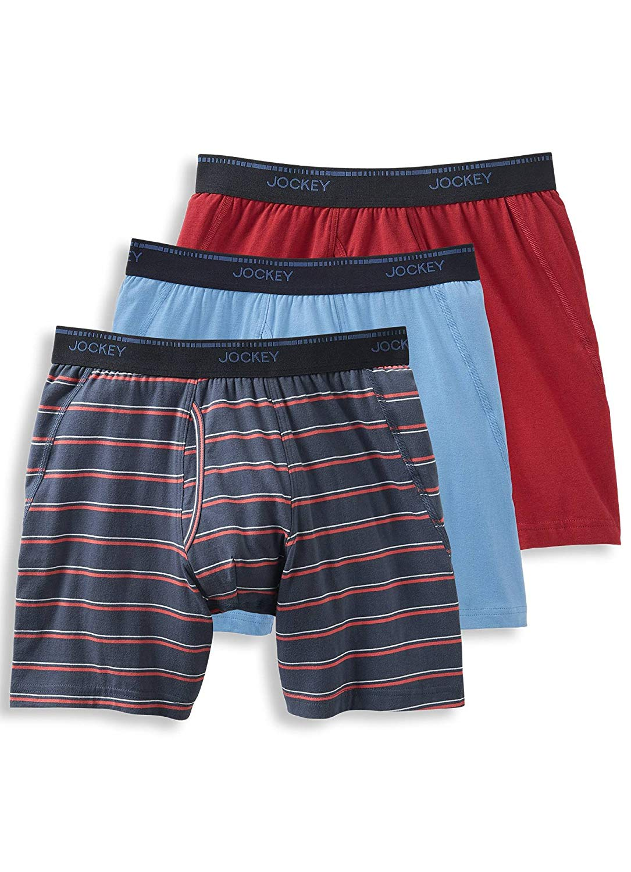 b550b84d8fff Get Quotations · Jockey Men's Underwear MaxStretch™ Midway Brief - 3 Pack