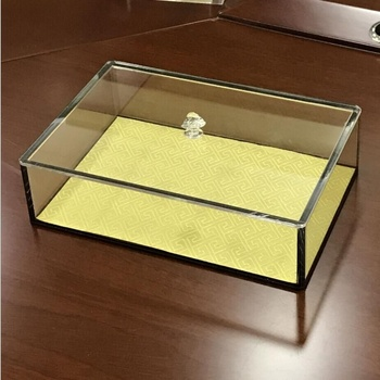 Customize Clear Acrylic Boxes With Lids