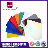 Alucoworld Perfect Product! building finishing materials acm panel outside