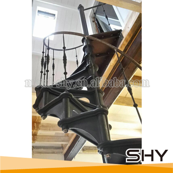 Prefabricated Stairs Outdoor Spiral Staircase Model 1880