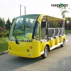 best selling 14 seat electric passenger sightseeing car DN-14