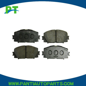 04465-52260 car brake pads for toyota cars front