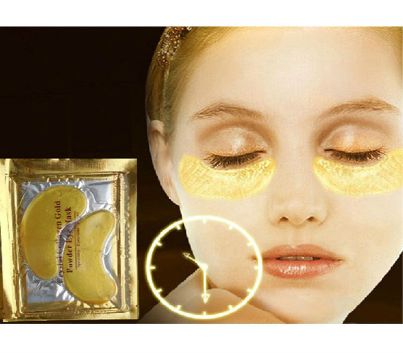 24K Gold Skin Care Crystal Collagen Eye Mask