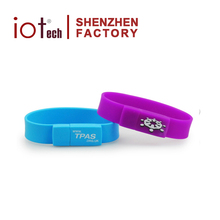 Silicone Wristband Usb Flash Drive 16g Pendrive with Custom Logo