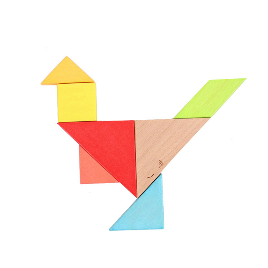 Tangram Christmas Tree: Tangram Pictures Promotion-Shop For Promotional Tangram