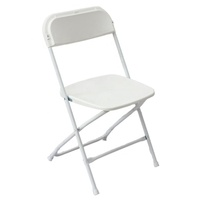 Heavy Duty Plastic Folding Chair Commercial Quality for Outdoor Events