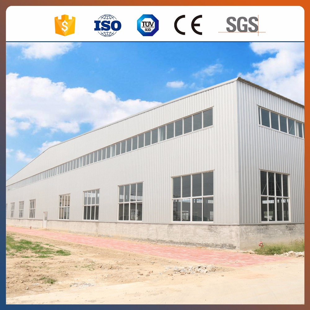 China manufacturer materal for workshop and cheap prefab steel shed Ghana