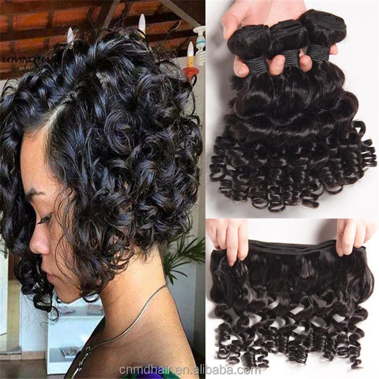 Short Curly Bob Hair Brazilian Hair Weave Buy Kinky Straight Yaki