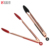 9+12inch Copper Plated Barbecue Grill Tongs Stainless Steel Silicone Food Tongs, BBQ Tongs