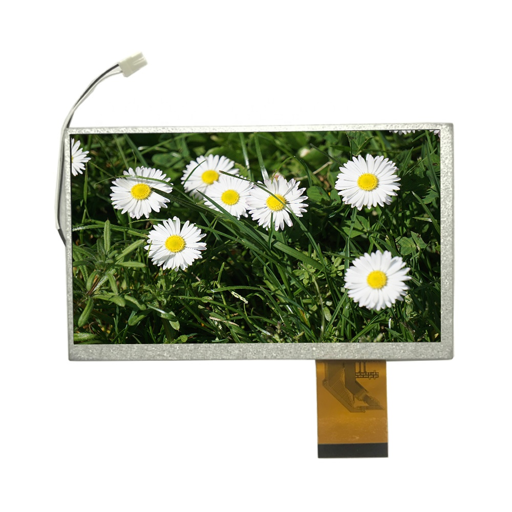 Die beste 7 zoll 800x480 hohe helligkeit fpc rohs lcd display panel screen