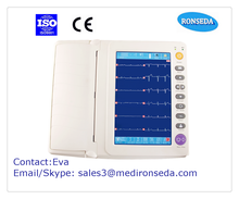 high -tech and quality 12 Channel ECG Machine Thermal printer with connective USB
