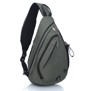 sling bag pouch mens casual shoulder bags chest pack bag