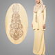 High Quality Printing Baju Kurung Fashion Islamic Clothing Abaya Dubai Abaya Fashion