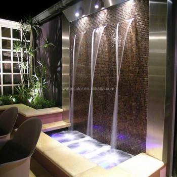 Modern Art Indoor Artificial Waterfall Fountain, View Indoor ...