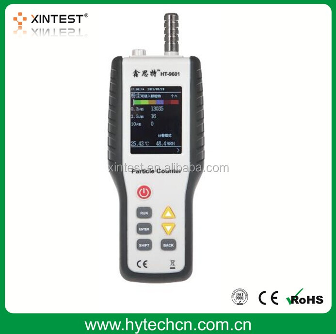 HT-9600 Handheld PM2.5 Monitor Detector with Backlight for Environmental Air Testing Analyzer