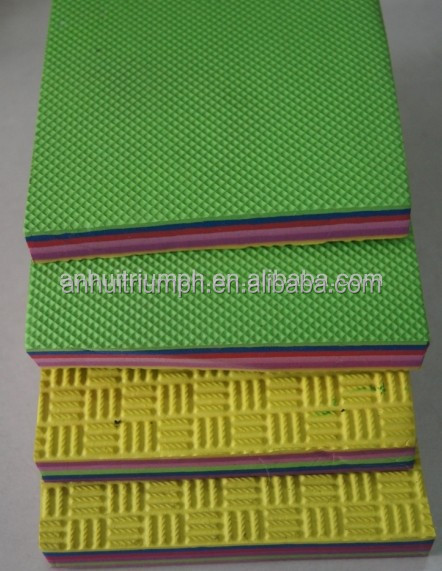 15mm outsole EVA for slippers/sandals