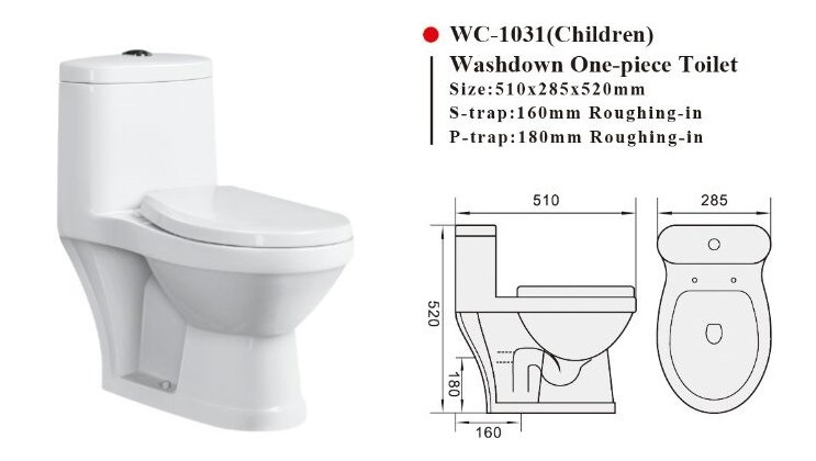 small toilet seat sizes. WC 1031 One Piece Kid Toilet Small Water Closet Bowl Wc piece