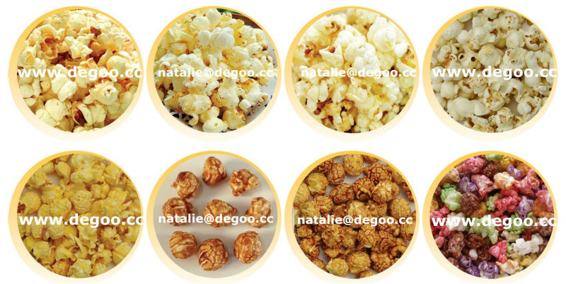 Caramel Popcorn Making Machine Cretors Hot Air Popper Corn Puff ...