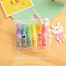 Wholesale free sample interactive fun skin marking pen for kids