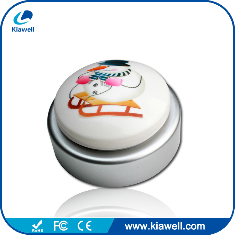 Funny ABS plastic push button music button toy