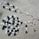 YUZE Sale Handmade Porcelain White Beads Holy Chain Rosary Set