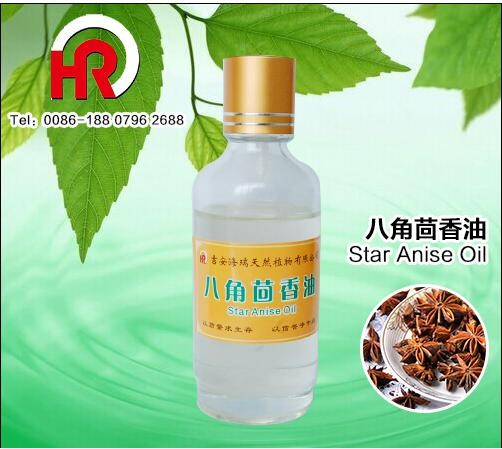Natural pure star anise oil for additive and food tobacco flavor