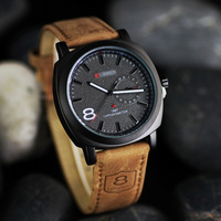 best selling wholesaler chinese leather strap curren watches men China supplier man watch curren wholesale wrist watch