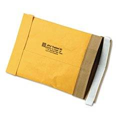 -- Jiffy Padded Self-Seal Mailer, Side Seam, #0, 6 x 10, Golden Brown, 250/Carton
