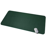Desk Mat Protector Pad Premium PU Leather Blotter Use as Stylish Computer Mouse Pad
