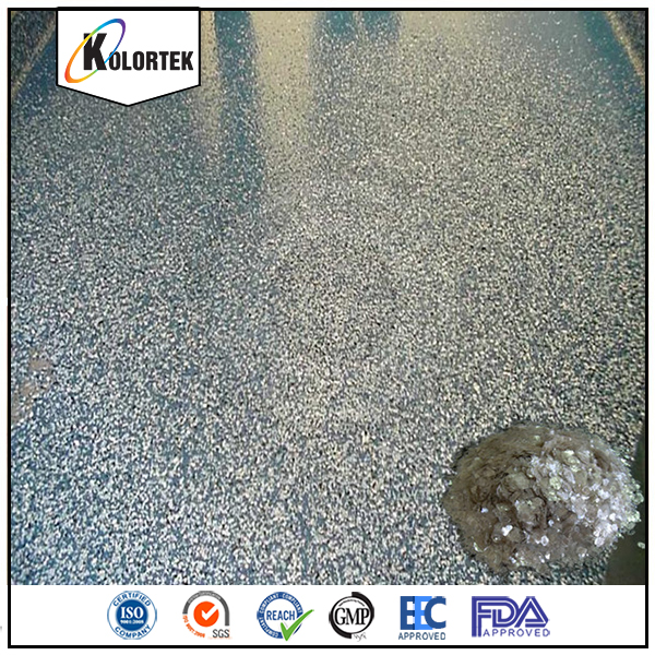 Kolortek Harz Epoxy Boden Farbe Flakes Farbe Chips Fur Garage Boden