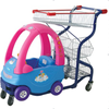 RH-SK01 Steel And Plastic Children Shopping Cart