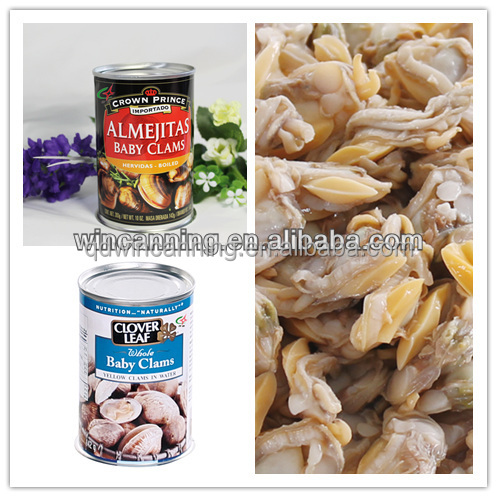 High Quality Canned Baby Clam with Brine