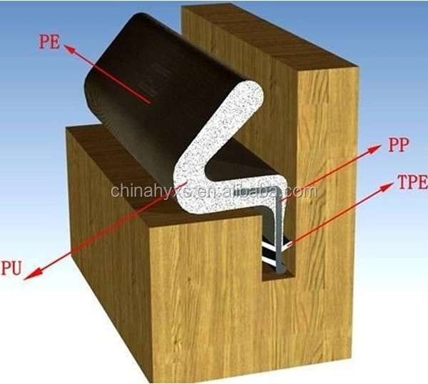 durable exterior door foam kerf door seal & Durable Exterior Door Foam Kerf Door Seal - Buy Foam Kerf Door ... Pezcame.Com
