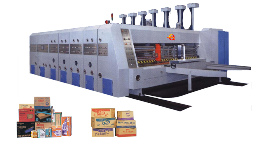 Newest selling flexo printer slotter die cutter machine for corrugated carton box