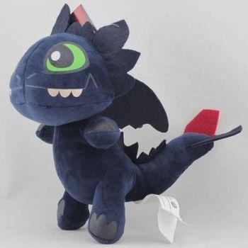 9 Plush Toy Soft Cute Toothless Black Dragon 23cm Stuffed Animal