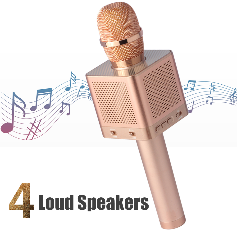 2018 Original Manufacturer Micgeek Q10s Q9 Q9s Q11 Mobile Phone Ktv Bluetooth Wireless Microphone With Speaker Karaoke Handheld Mini Buy Q10skaraoke
