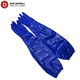 Darlingwell brand safety sleeves Chemical Resistant Gloves 100% water proof blue PVC gloves EN374 standard China